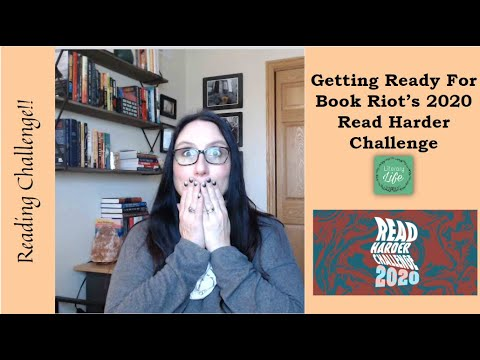 Book Riot's 2020 Read Harder Challenge...getting Ready!