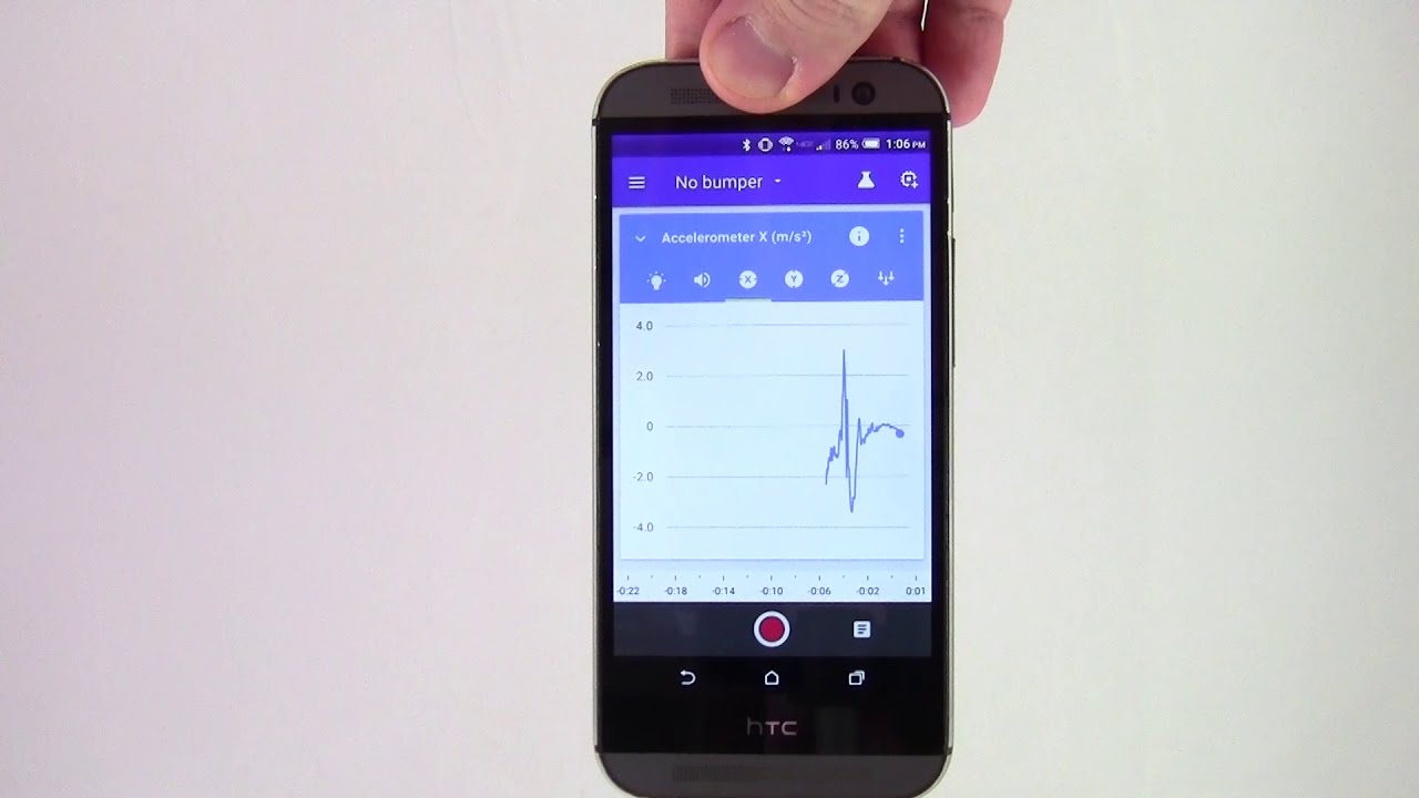 How to Measure Acceleration with Google's Science Journal App