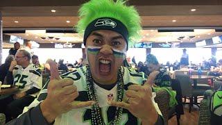 Fan Reaction: Seahawks vs Panthers pt 1 (NorbCam Reacts)