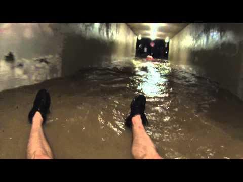 CU Boulder Flood Tunnel Tubing!