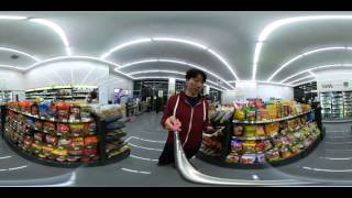 LG VR 360 CAM LG 360캠 LG 360 CAM으로 찍은 CU 편의점 with V10