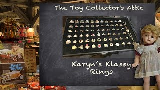 Collecting Class Rings and Kids Rings - Karyn's Unusual Hobby!