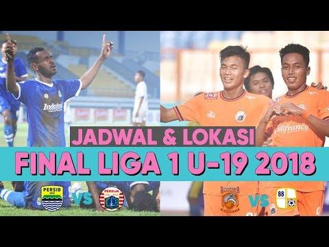 Jadwal & Lokasi Baru! Jadwal Siaran Langsung Final Liga 1 U-19 2018 Persib U-19 vs Persija U-19
