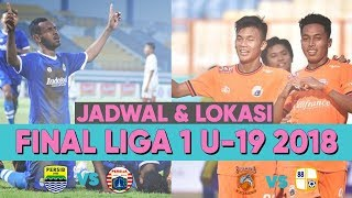 Download Video Jadwal & Lokasi Baru! Jadwal Siaran Langsung Final Liga 1 U-19 2018 Persib U-19 vs Persija U-19 MP3 3GP MP4