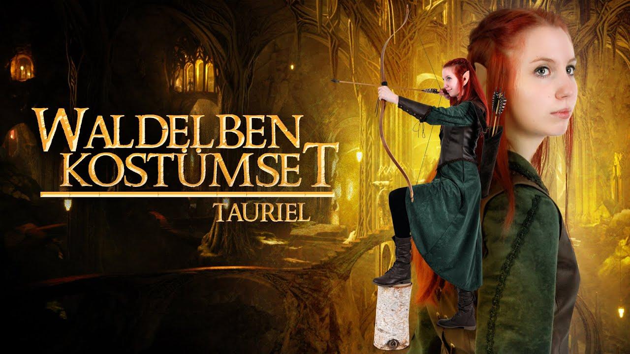 Hobbit-Kostüm Tauriel: Mindestens so gut wie Legolas - YouTube
