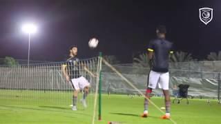 التدريب الرئيسي للدحيل لمباراة الريان في الجولة الثالثة من الدوري