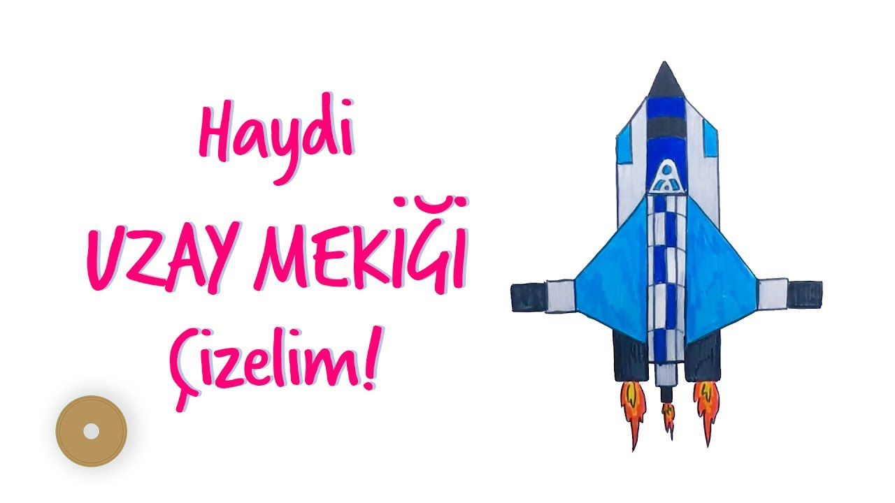 Uzay Mekigi Nasil Cizilir How To Draw Space Shuttle Cocuklar