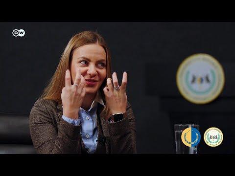 اللقاء الكامل مع النائبة في البرلمان الاوكراني اولينا سوتنيك حول مظاهرات العراق واوكرانيا