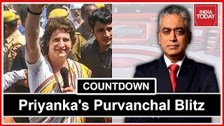 Will Priyanka Gandhi's Blitz Get Votes For Congress? | Countdown With Rajdeep