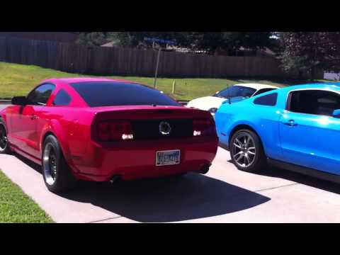 2007 Mustang GT w/FRPP Hot Rod cams