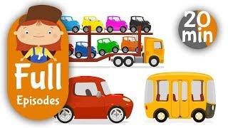 Çocuklar 9 Derleme Karikatür. Arabayı Doktor Ve Arabalar