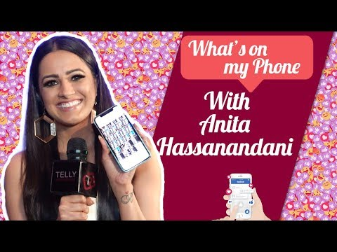 What's On My Phone With Anita Hassanandani | Naagin 3 | Telly Reporter Exclusive