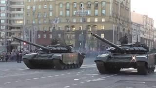 """Основной танк Т-14 """"Армата"""" и Боевая машина поддержки танков БМПТ """"Терминатор - 2"""""""