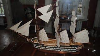 Музей судостроения, Николаев (Shipbuilding Museum, Nikolayev)(Музей состоит из 12 залов, а экспозиция насчитывает около 3000 экспонатов. Представленные вещи детально показ..., 2016-03-03T06:32:34.000Z)