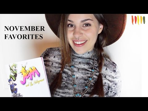 NOVEMBER FAVORITES: Art Supplies, Comic Books, Jewelry! | Paige Poppe - Artist