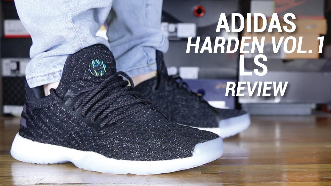 ad71b1076 ADIDAS HARDEN VOL 1 LS REVIEW - YouTube