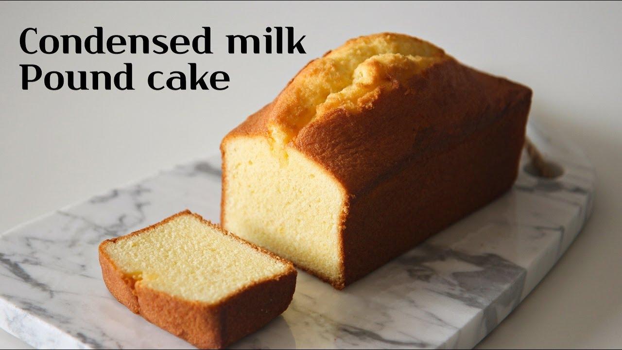 Sub) 100% 성공보장 보들보들 연유 파운드케이크 만들기 🍼 : Soft condensed milk pound cake │Brechel