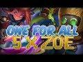 ONE FOR ALL 2018 - 5 x ZOE vs 5 x Heimerdinger - League of Legends