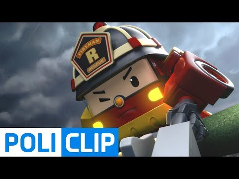 Hold my hand as hard as you can | Robocar Poli Rescue Clips