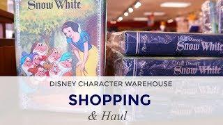 Disney Character Warehouse Shopping & HAUL