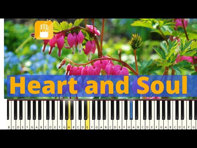 Heart and Soul piano tutorial  Zeer eenvoudig
