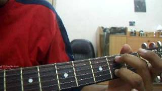 Enrique Iglesias - Addicted Acoustic Guitar Tutorial ( Part 1)