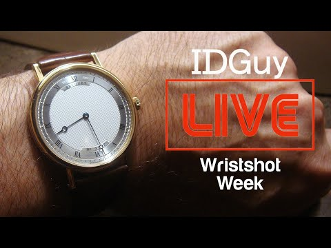 What Watch Are You Wearing At Home? (Part 5) - WRIST-SHOT WEEK - IDGuy Live