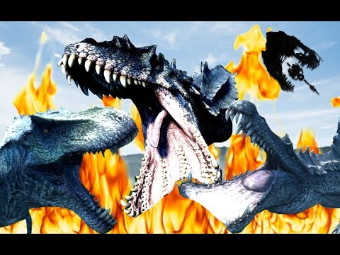 The Isle: WHICH HYPO IS THE STRONGEST, HYPO GIGA Vs HYPO REX Vs HYPO SPINO