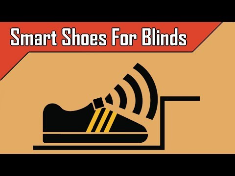 Smart Shoes For Blinds | Ultrasonic blind walking shoes