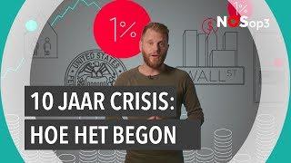De bankencrisis: waar ging het mis?