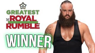 WWE GREATEST ROYAL RUMBLE 2018 FULL MATCH PREDICTIONS