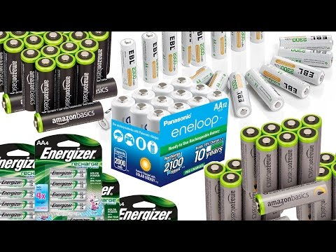 TOP 5 BEST SELLING AA Rechargeable Batteries on Amazon (Were You Surprised?)