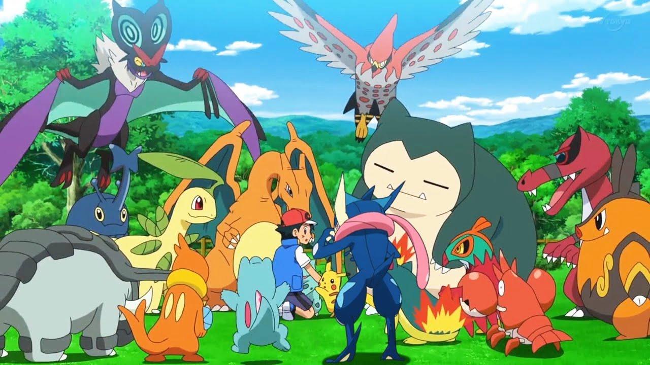 Ash's Pokemon RETURNS | Ash/Infernape & Gary/Blastoise vs Moltres - Pokemon Journeys Episode 68【AMV】
