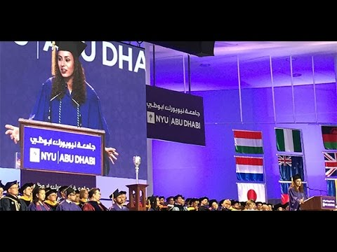 NYU Abu Dhabi 2016 Commencement Ceremony — Full Program