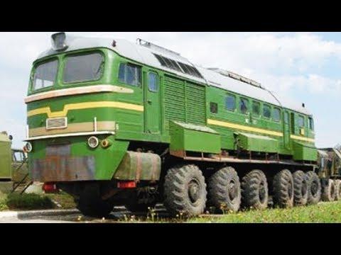"""Зачем в СССР создали поезд на колесах? Тепловоз """"Машка"""" Экспериментальный"""