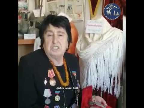 Карачаево -Балкарская национальная одежда  16+
