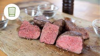 Das perfekte Steak - finde den Garpunkt #chefkoch