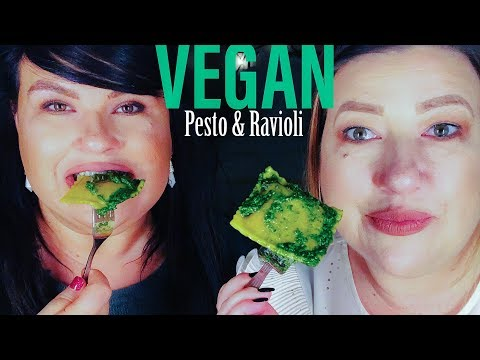 VEGAN GROCERY FINDS: Le Grand Pesto and Kite Hill Ravioli