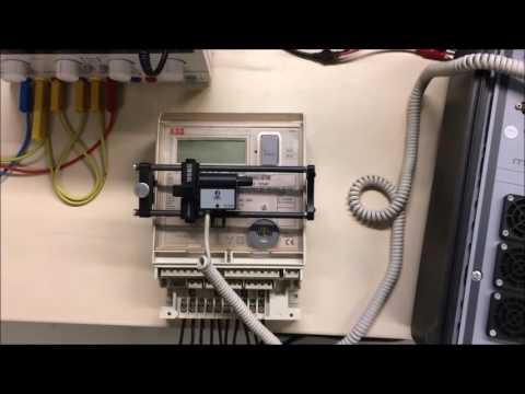 Метрологическая поверка счетчика электроэнергии с помощью переносного прибора МТ786