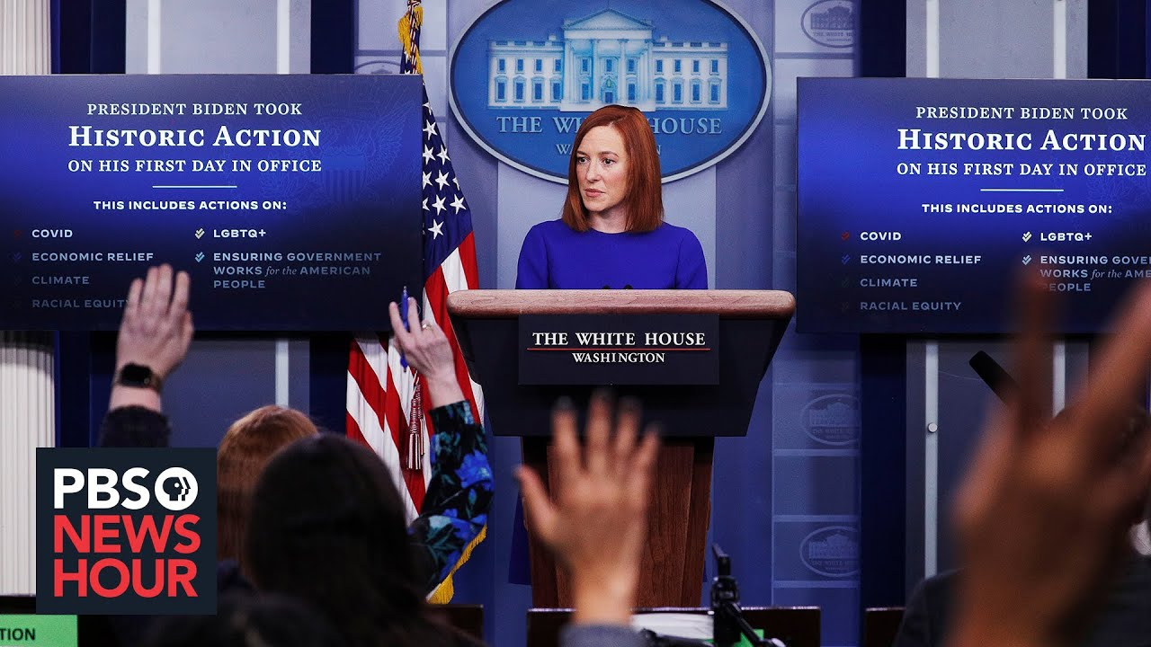 White House press secretary Jen Psaki says she advises Biden not ...