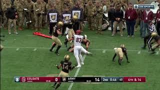 Highlights: Army Football vs. Colgate 11-17-18