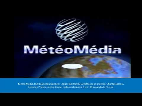 Meteo Media Aout 1990 (Audio only/)