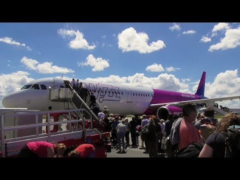 Wizzair Airbus A321-231SL Hamburg to Gdansk | Full Flight