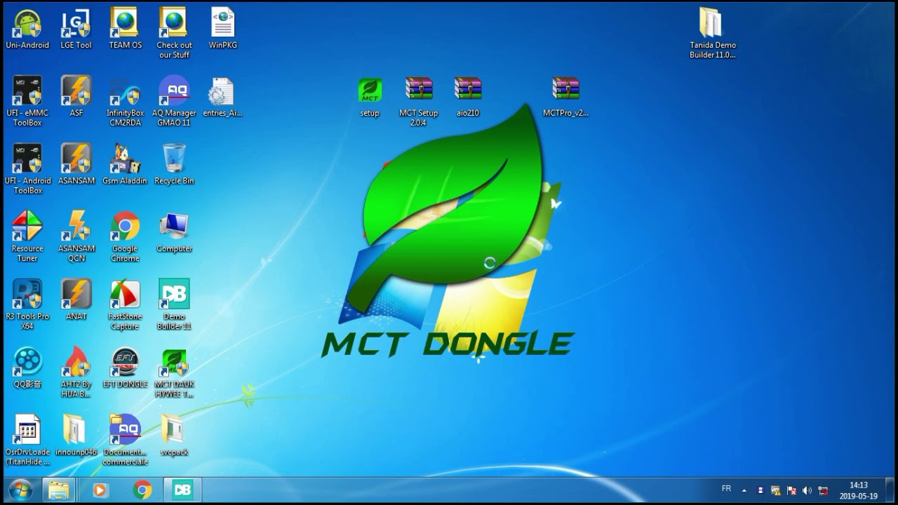Registration of MCTPro Dongle v2 0 4 cracked by Ammar BAGHDADI