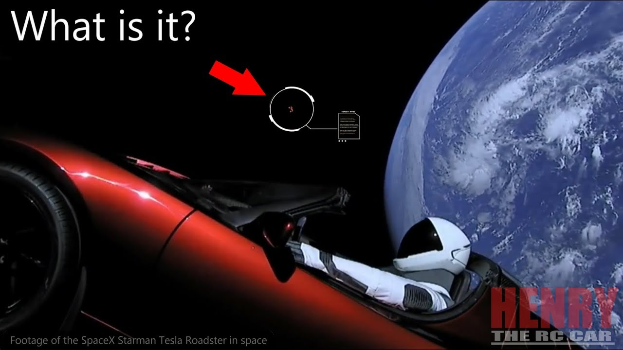 SpaceX Tesla Roadster Starman Finds UFO Alien In Space ...