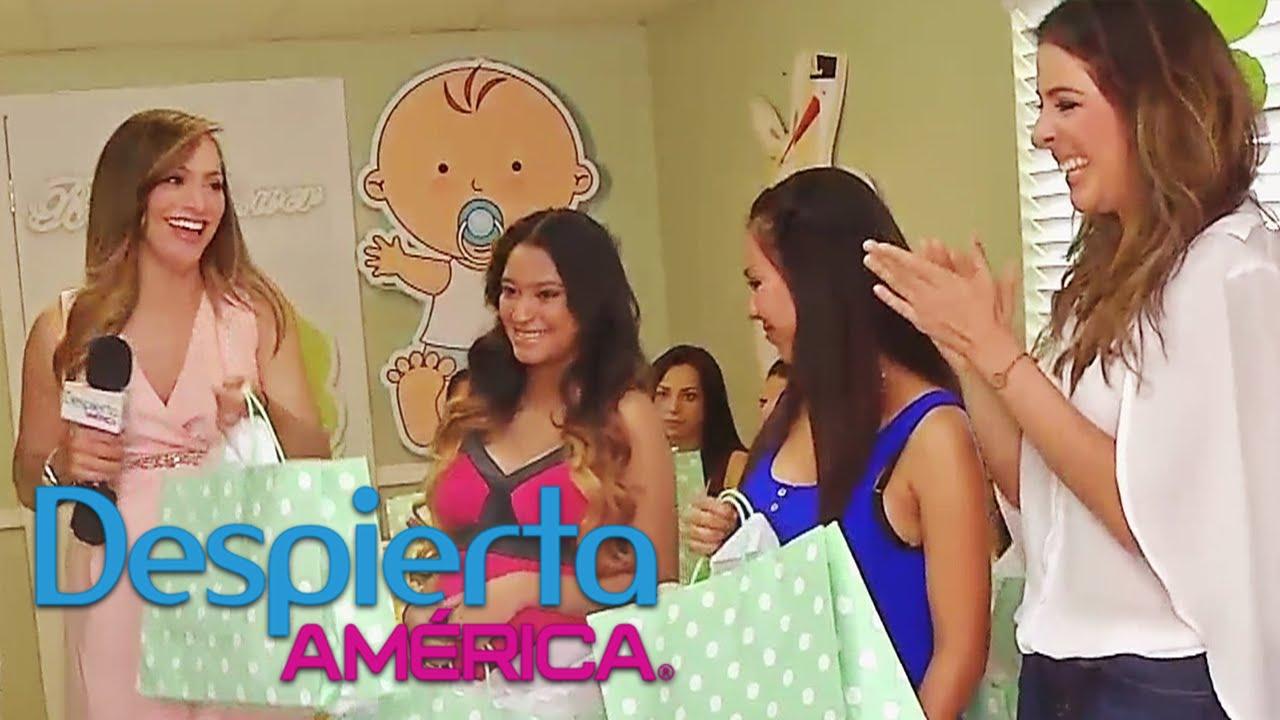 Satcha Pretto Le Celebró El Baby Shower A Futuras Mamás Youtube
