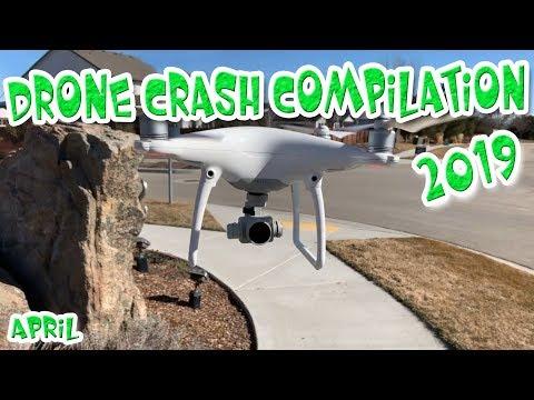 Drone Fails 2019 Crash Compilation, AUTEL EVO, DJI MAVIC PRO,  April