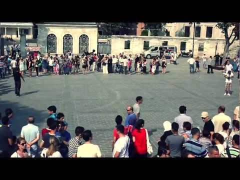 Istanbul Flash Mob, Kadıköy - Kartal  Dans Gösterisi / Sultanahmet
