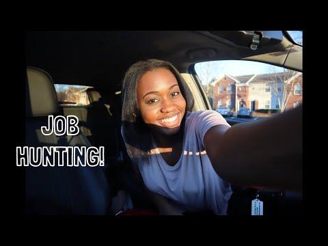 Looking For A Job In Atlanta! Vlog 2019