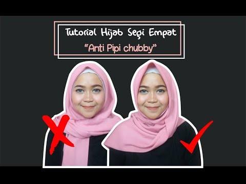 Tutorial Tips Hijab Segi Empat Anti Pipi Tembem Dian Retno Youtube